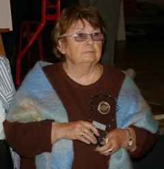 Arlette Angelini (Vannes) 3ème