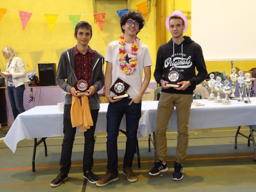 podium BCJ Quentin à droite