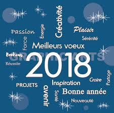 meilleurs voeux 2018 c