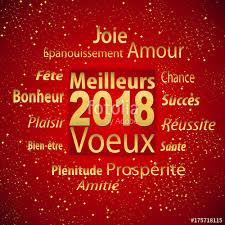 meilleurs voeux 2018 d