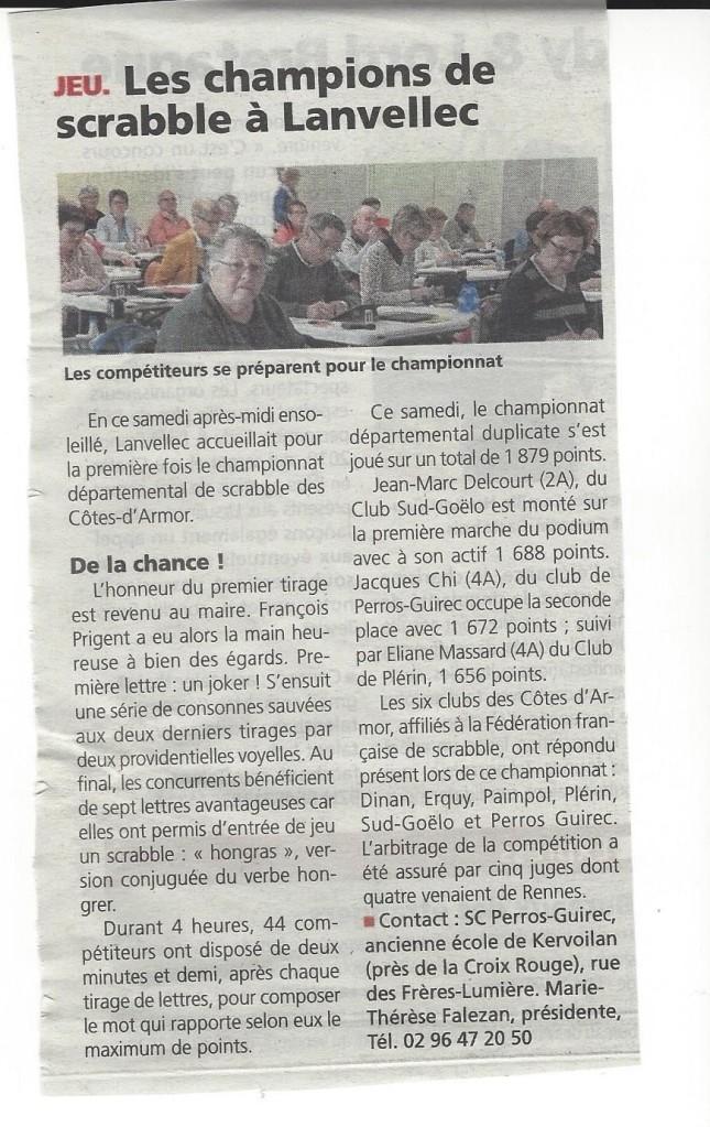 ARTICLE LE TREGOR